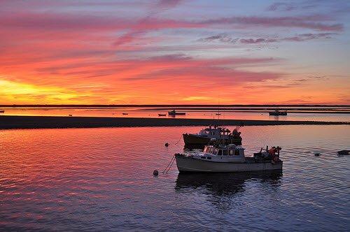 Pre-dawn, Chatham Harbor, Chatham, MA